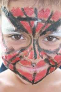 Mika (Spiderman) is 7